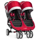New Baby Jogger City Mini Double Stroller - Crimson