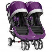 New Baby Jogger City Mini Double Stroller - Purple