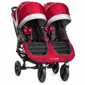 New Baby Jogger City Mini GT Double Stroller - Crimson