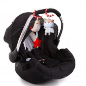 Red Kite Clip On Toys Pushchair / Car Seat - Bertie Bear