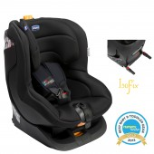 Chicco Oasys Group 1 Isofix Car Seat - Black