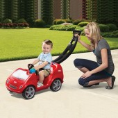 Little Tikes Mobile Push n Ride Car - Red