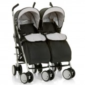 Hauck Torro Duo Twin Pushchair - Black