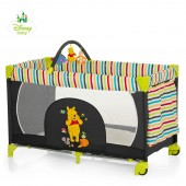 Hauck Disney Dream n Play Go Travel Cot - Pooh Tidy Time