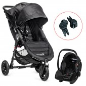 New Baby Jogger City Mini GT Travel System - Black