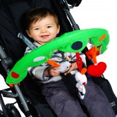 Red Kite Pushchair / Car Seat Activity Arch - Cotton Tail