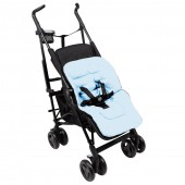 Clair De Lune All Seasons Pram / Pushchair Fleece Liner - Blue