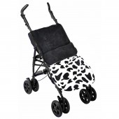 Clair De Lune Fun 'n' Funky Pushchair Footmuff - Mu Mu