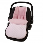 4Baby Car Seat Footmuff - Dimple Pink