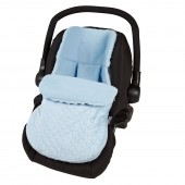 4Baby Car Seat Footmuff - Dimple Blue