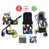 Cosatto Giggle 2 Combi 3 in 1 Pushchair - Pitter Patter