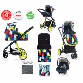 Cosatto Giggle 2 Combi 3 in 1 Travel System - Pitter Patter