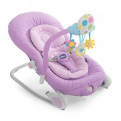 Chicco Balloon Baby Bouncer Rocking Chair With Sounds - Lilla