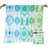 OiOi Ikat Adventure Blanket - Boy