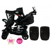 Graco Quattro Tour Duo Tandem Travel System - Sport Luxe