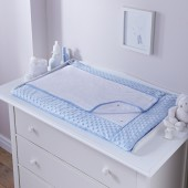 4baby Luxury Changing Mat - Dimple Blue