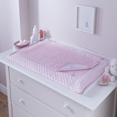 4baby Luxury Changing Mat - Dimple Pink