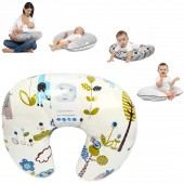 4Baby 4 in 1 Nursing / Pregnancy Pillow / Cushion - Jungle Blue