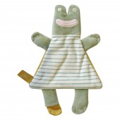 Baby Joule Cute Cuddly Comforter Toy - Francis The Frog