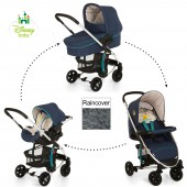 Hauck Disney Miami 4 Trio Set Travel System - Pooh Ready To Play