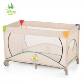 Hauck Disney Dream n Play Go Plus Travel Cot - Pooh Ready To Play