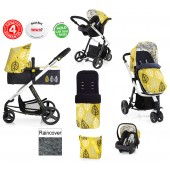 Cosatto Giggle 2 Deluxe Combi 3 in 1 Travel System - Oaker