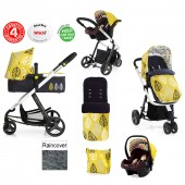 Cosatto Giggle 2 Combi 3 in 1 Travel System - Oaker / Marzipan
