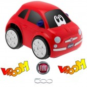 Chicco Turbo Touch Car - Fiat 500 Red