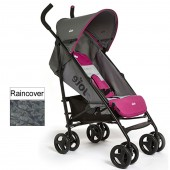 Joie Nitro Stroller - Charcoal / Pink