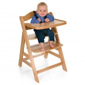 Hauck Gamma+ Grow With Your Child Wooden Highchair - Natural