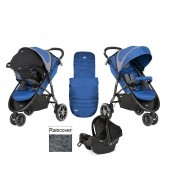 Joie Litetrax 3 Wheel Travel System - Caribbean