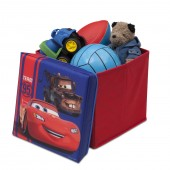 Delta Children Collapsible Ottoman - Disney Pixar Cars