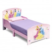 Delta Children Wooden Toddler Bed - Disney Princess