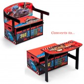 Delta Children 3in1 Convertible Bench / Desk - Disney Pixar Cars