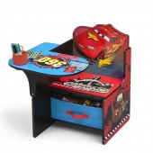 Delta Children Chair Desk With Storage - Disney Pixar Cars