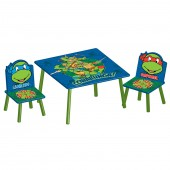 Delta Children Table & Chairs Set - Teenage Mutant Ninja Turtles