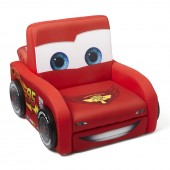Delta Children Lightning McQueen Shaped Upholstered Chair - Disney Pixar Cars
