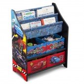 Delta Children Book & Toy Organiser - Disney Pixar Cars