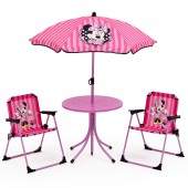 Delta Children Outdoor Patio Set - Disney Minnie Mouse