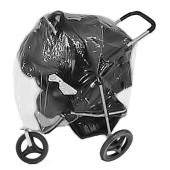 4Baby Universal Zipped 3 Wheeler Travel System Raincover