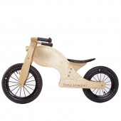 Prince Lionheart Chop Balance Bike - Natural Birch