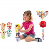 Chicco Fit & Fun Bowling Monkeys