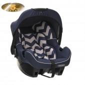 Obaby Group 0+ Infant Carrier Car Seat - ZigZag Navy