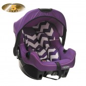Obaby Group 0+ Infant Carrier Car Seat - ZigZag Purple