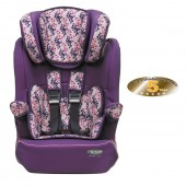 Obaby Group 123 High Back Booster Car Seat - Little Cutie