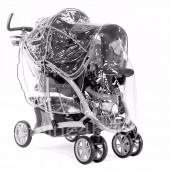 4baby Universal Graco Quattro Tour Duo Double Tandem Raincover