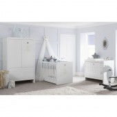 Tutti Bambini Sovereign 3 Piece Room Set - White