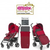 Chicco LiteWay Top Stroller - Red
