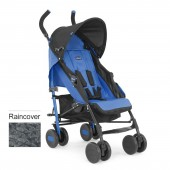 Chicco Echo Pushchair Stroller With Raincover - Marine