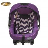 Obaby Group 0+ Zeal Infant Carrier Car Seat - ZigZag Purple